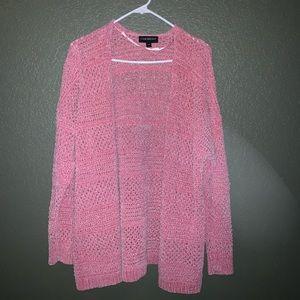 Pink sparkly cardigan